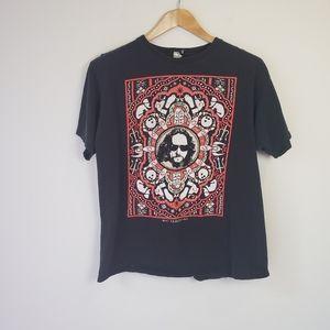 Vintage 90s Y2K The Big Lebowski Black T-Shirt